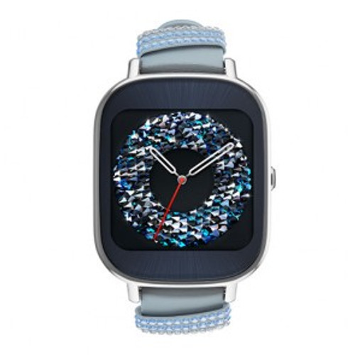 """ASUS WI502Q 1.45"""" AMOLED Silver smartwatch"""