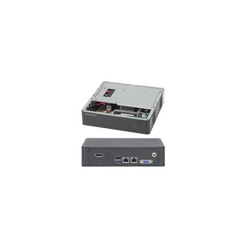 Supermicro SuperServer SYS-E200-8B FCBGA 1170 60W Mini-ITX Server Barebone System (Black)