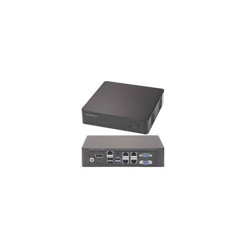 Supermicro SuperServer SYS-E200-9B FCBGA 1170 60W Mini-ITX Server Barebone System (Black)