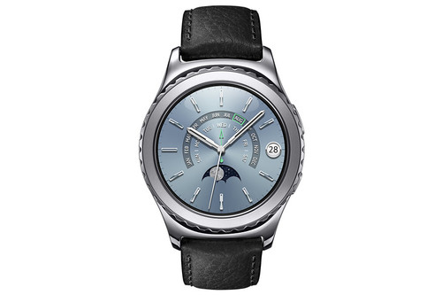 "Samsung Gear S2 Classic 1.2"" SAMOLED Platinum smartwatch"