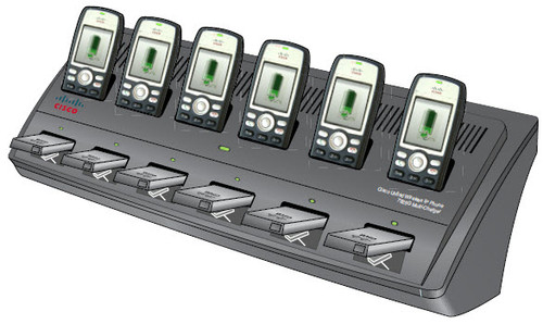 Cisco Multi-Charger-Phone charging stand+battery charger+power adaptor