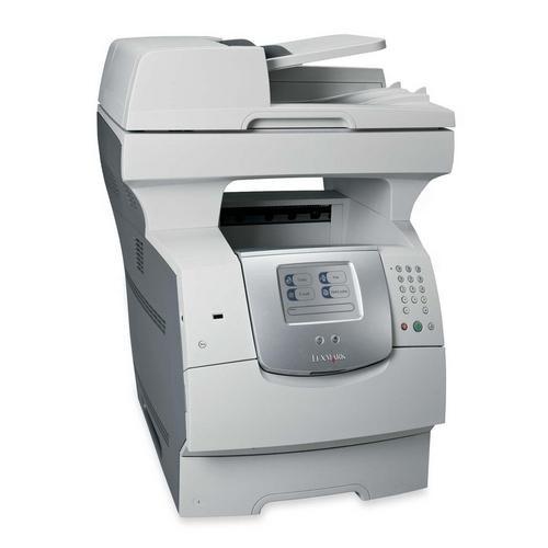 22G0550 - Lexmark X642E Multifunction Printer Monochrome 45 ppm Mono 2400 dpi Fax Printer Copier Scanner Ethernet PC Mac (Refurbished)
