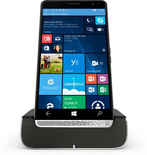 HP Elite x3 + Elite x3 Desk Dock 64GB Chrome,Graphite