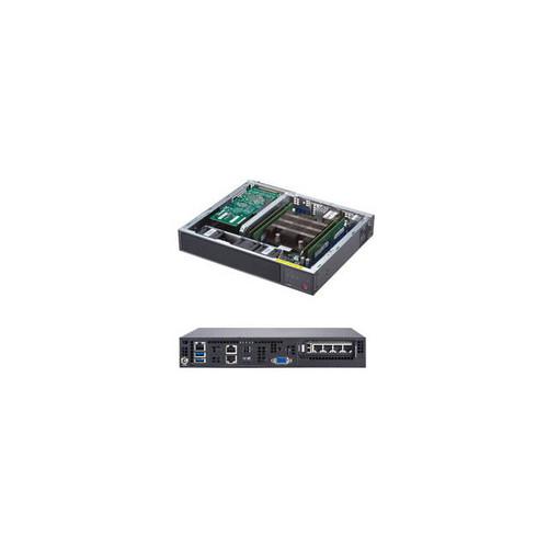 Supermicro SuperServer SYS-E300-9D Intel Xeon D-2123IT 120W Compact Server Barebone System (Black)