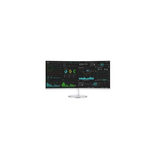 Samsung CJ791 Series C34J791WTN 34 inch 3,000:1 4ms HDMI/DisplayPort/USB LED LCD Monitor (White/Silve