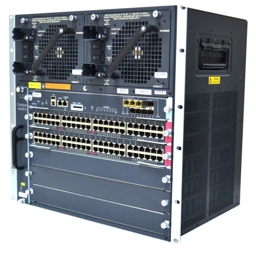 Cisco Catalyst 4506-E Switch Rack-Mountable (6-slot chassis) Fan