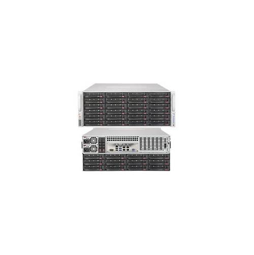 Supermicro SuperStorage Server SSG-6048R-E1CR36L Dual LGA2011 1280W 4U Rackmount Server Barebone System (Black)
