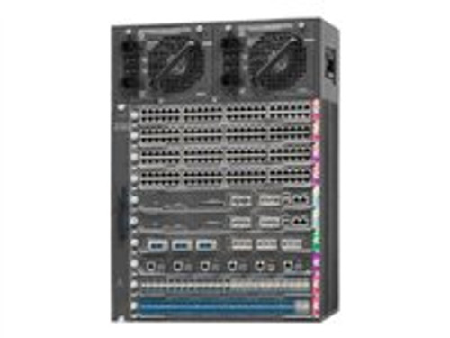 Cisco Catalyst 4510R-E Switch Rack-mountable 14U