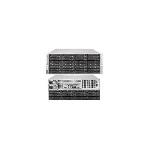 Supermicro SuperStorage Server SSG-6048R-E1CR36N Dual LGA2011 1280W 4U Rackmount Server Barebone System (Black)