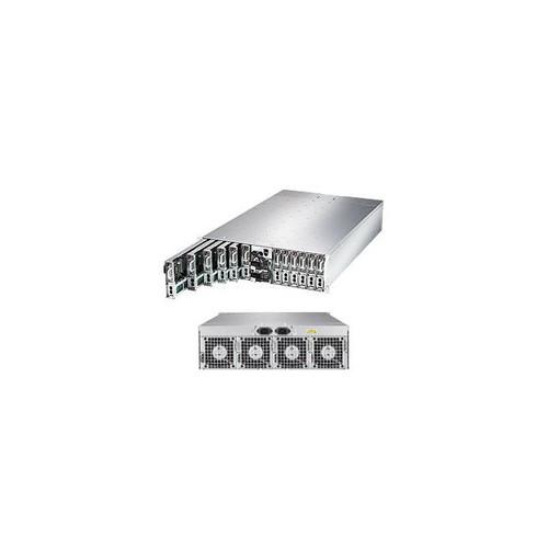 Supermicro SuperServer MicroCloud SYS-5039MS-H12TRF Twelve Node LGA1151 2000W 3U Rackmount Server Barebone System (Black)