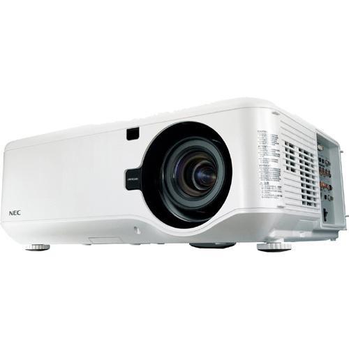NP4100W-08ZL - NEC Display NP4100W-08ZL Multimedia Projector with VUKUNET free CMS 1280 x 800 WXGA 38.58lb 3Year Warranty (Refurbished)