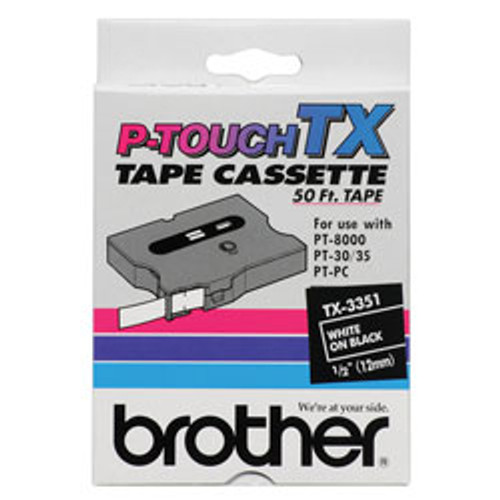 Brother TX3351 TX Label-Making Tape