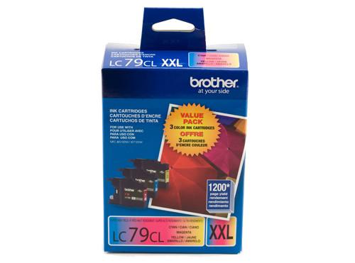 Brother LC793PKS Cyan, Magenta, Yellow ink cartridge