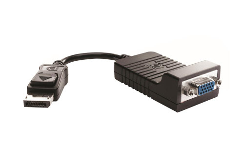 481408-002 - HP DisplayPort To VGA HD15 Female Cable Adapter