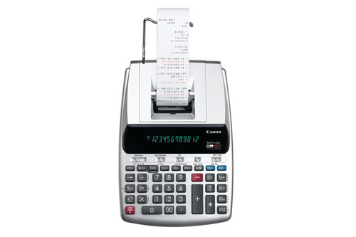 Canon MP11DX-2 Desktop Printing calculator Silver calculator