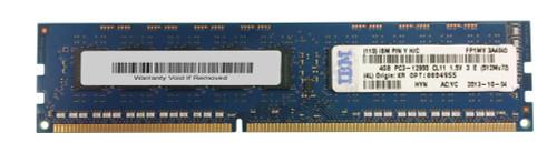 00D4955 - IBM 4GB (1X4GB) 1600MHz PC3-12800 240-Pin 1.5VOLT Dual Rank X8 UNBUFFERED CL11 ECC DDR3 VLP SDRAM RDIMM IBM Memory for SYSTE