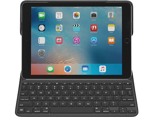 Logitech CREATE Smart Connector QWERTY English Black mobile device keyboard