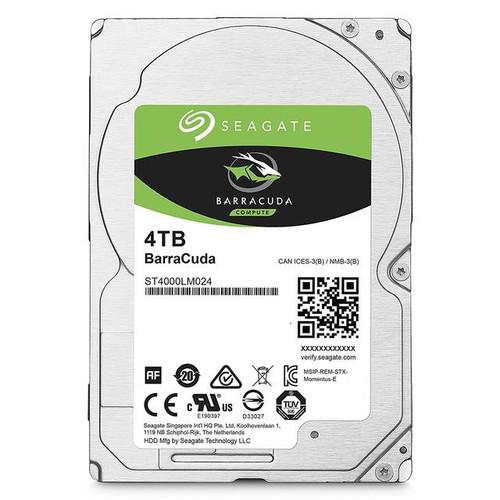 Seagate Barracuda ST4000LM024 4TB 5400RPM SATA 6.0 GB/s 128MB Hard Drive (2.5 inch)