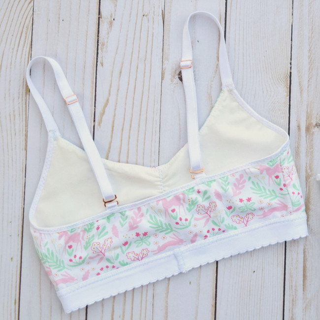 Sweet little bralette for young girls/tweens.