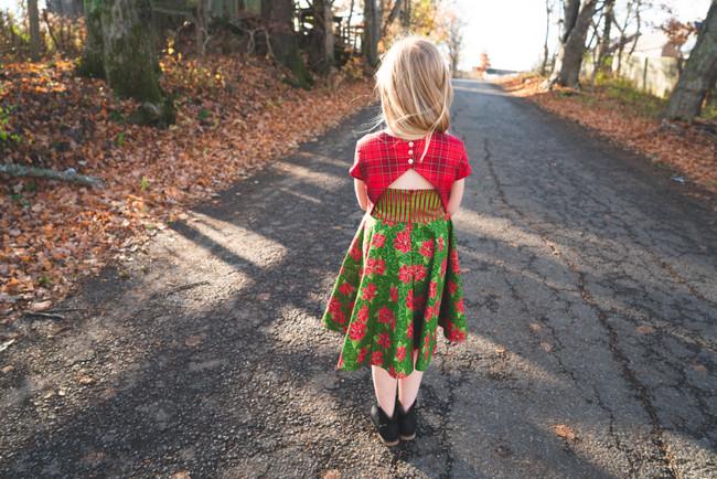 The Cranberry Dress