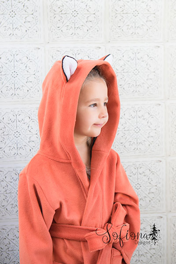 Arctic Fox Housecoat