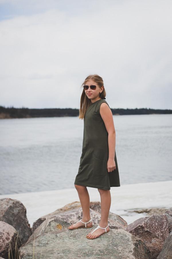 Moss Hooded Dress/Top