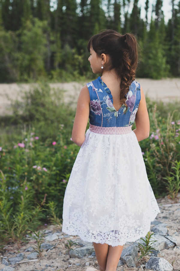 Fireweed Flounce Dress