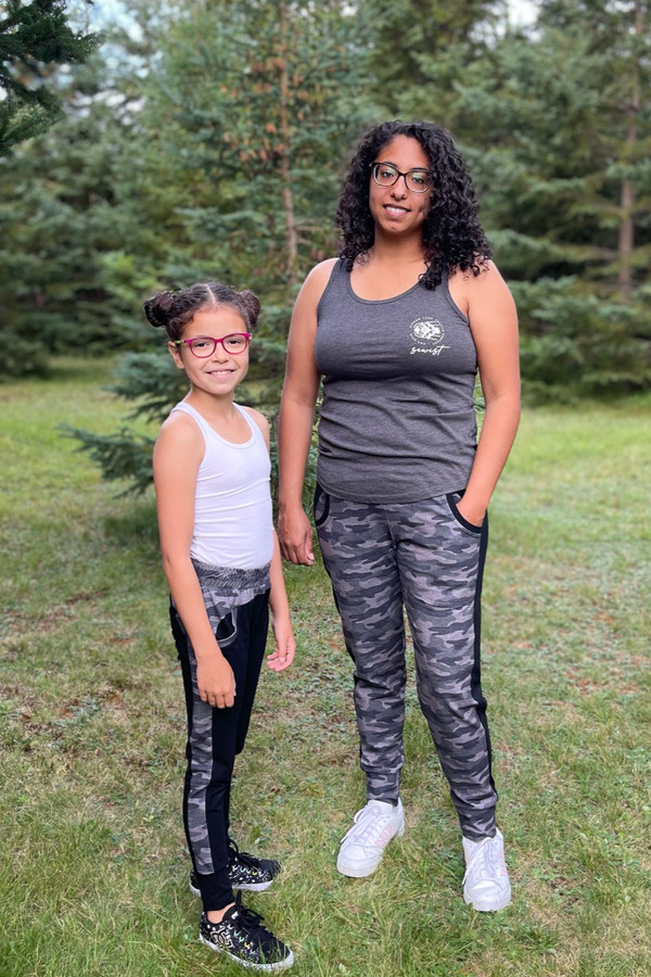 Modern style joggers for girls and junior miss sizes