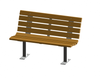 Contour Bench with Backrest