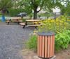 20 Gallon Public Place Series Trash Receptacle
