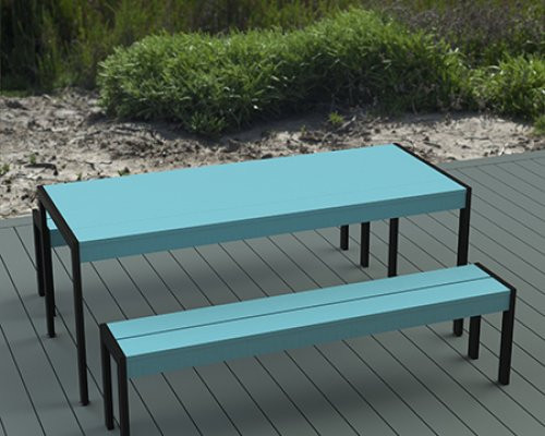 "Mobillier de Jardin - 72"" Table"