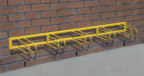 "98"" Stoneham Bike Rack 5 Places - Wall Installation"