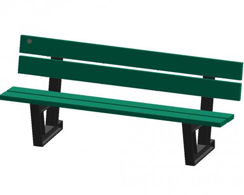 "6' Park Series Bench ""Econo"""