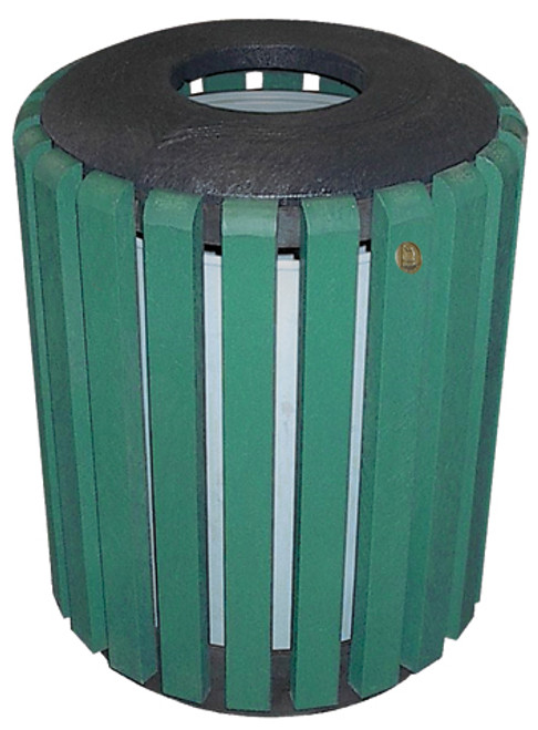 34 Gallon Public Place Series Trash Receptacle