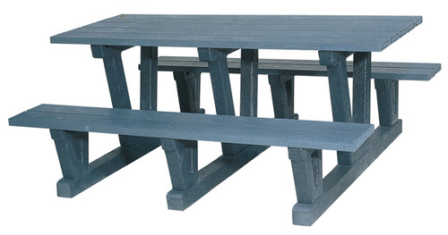 "Park Picnic Table ""3 Supports"""