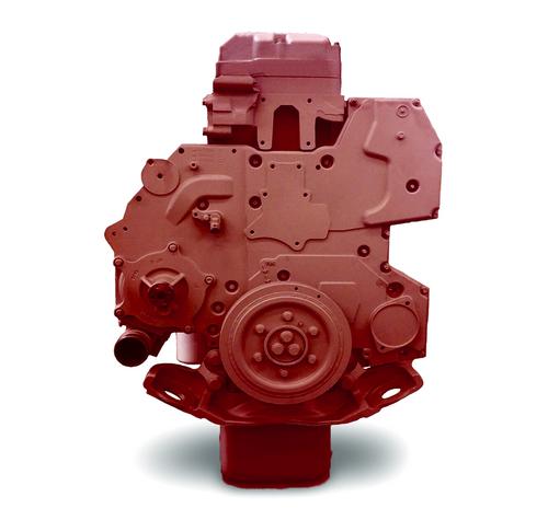 International, DT466EGR, Running Engine, On Highway