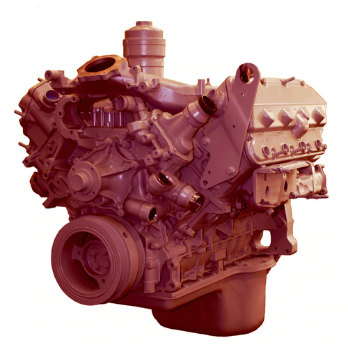 Navistar, 6.4L, Long Block, On Highway