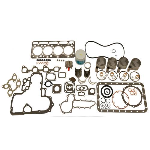 Rebuild Kit, Kubota V1902 - Standard Pistons