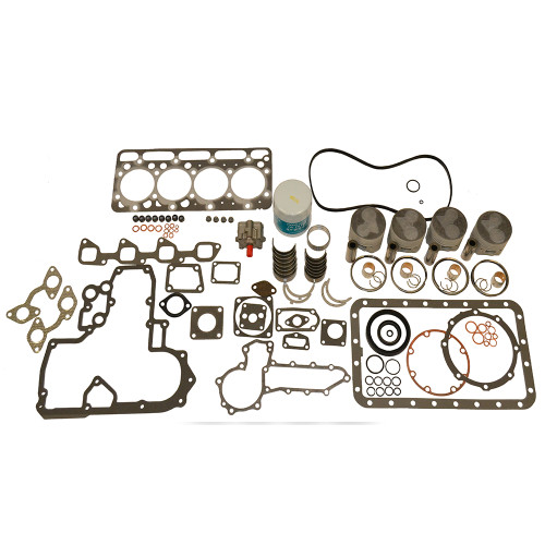 Rebuild Kit, Kubota V1702 - .020 OS Pistons