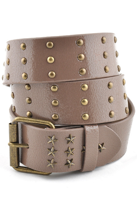 Vintage Stud leather belt
