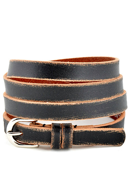 Skinny Leather belt