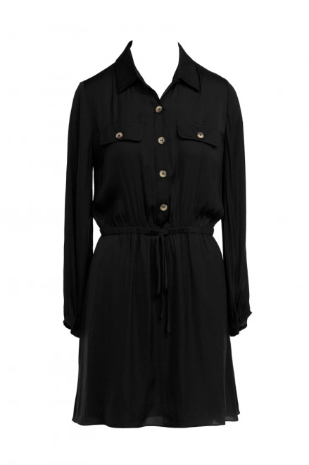 Collared Button Dress