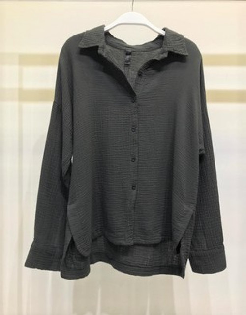 Embossed Button Down