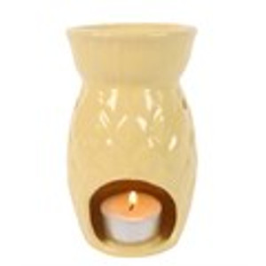 yellow pineapple wax melter oil burner