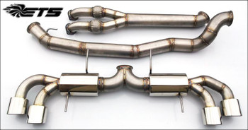 "ETS 4.0"" (102mm) Stainless Steel Exhaust System for Nissan GT-R R35"