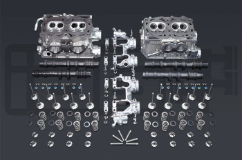 IAG Stage 1 EJ25 Cylinder Head Package w/ GSC S1 Cams For WRX, STI, LGT, FXT