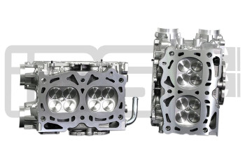 IAG Stage 2 EJ25 Pocket Ported Cylinder Head Package w/ GSC S2 Cams For WRX, STI, LGT, FXT