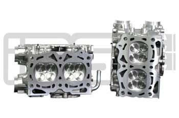 IAG Stage 3 EJ25 Pocket Ported Cylinder Head Package w/ +1mm GSC Valves For WRX, STI, LGT, FXT