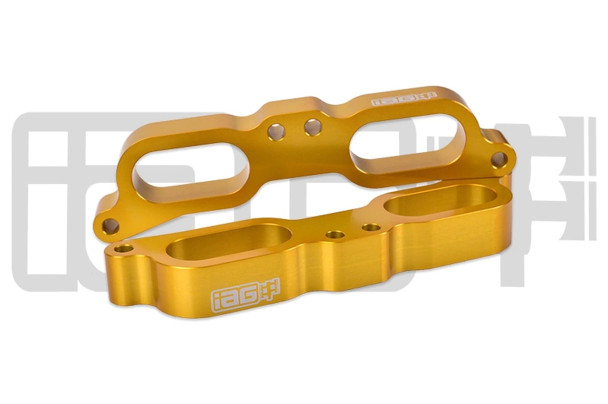 IAG CNC TGV Housings for 2015 - 20 Subaru WRX without Reference Port (Gold)