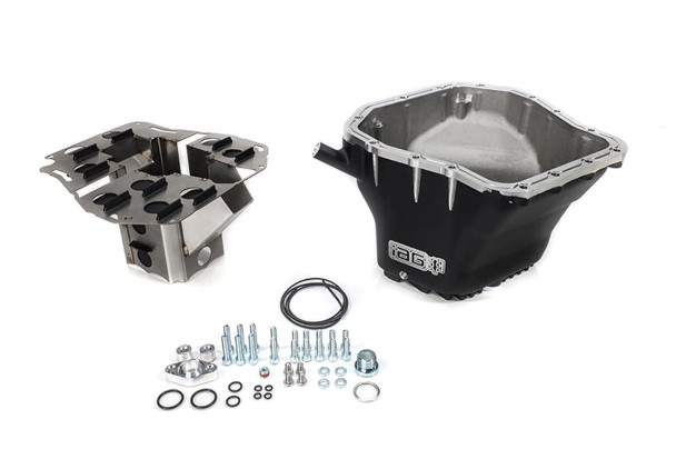 IAG Performance EJ Competition Series Oil Pan For 02-14 WRX, 04-20 STI, 05-09 LGT, 04-13 FXT (Black)